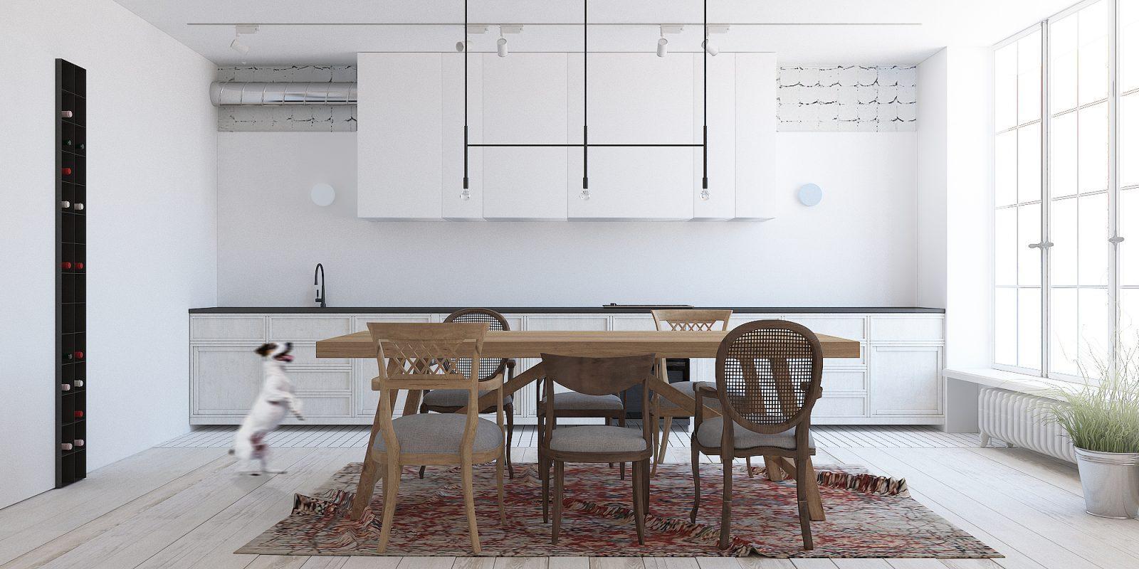 дизайна интерьера столовой