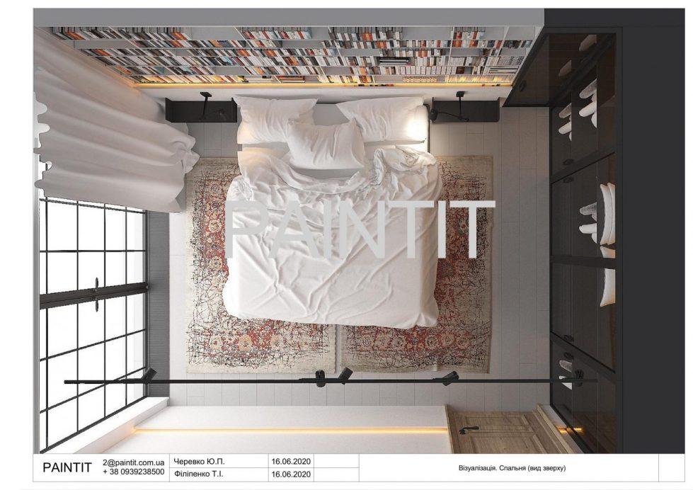 дизайн интерьера спальни фото 1