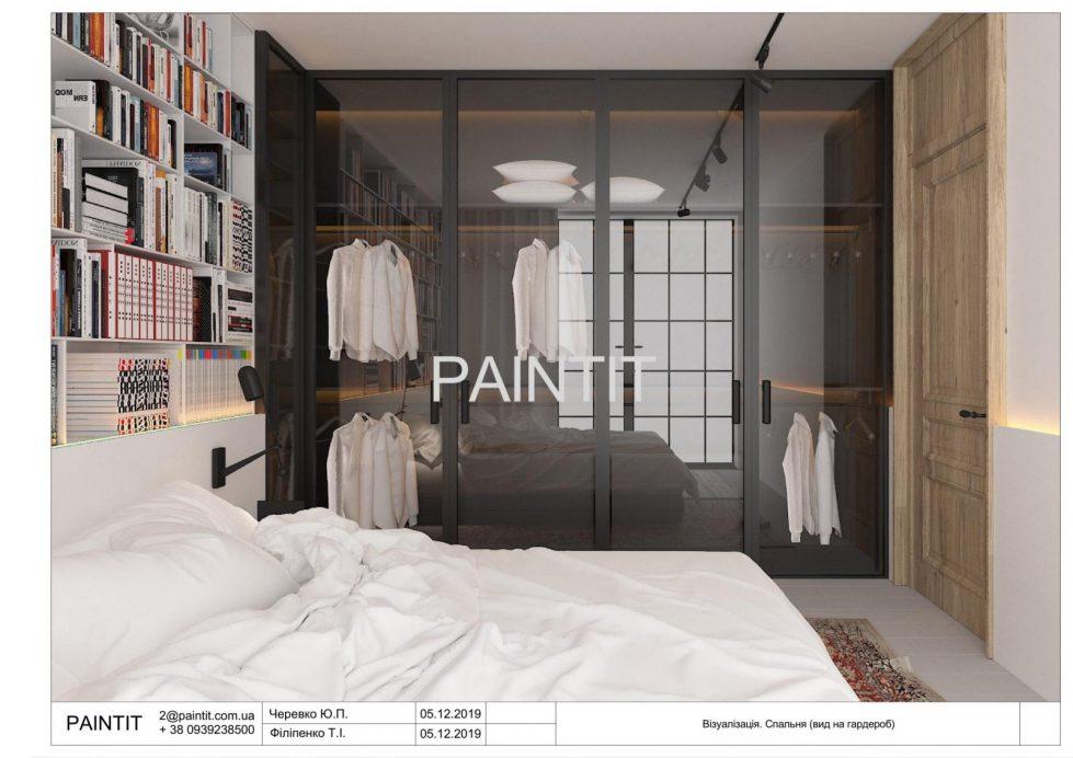 дизайн інтер'єру спальної кімнати